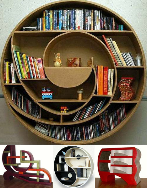 Bookshelves Design