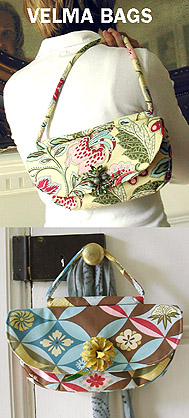 Amy Butler Velma Bag Pattern Winner   Indie Crafts